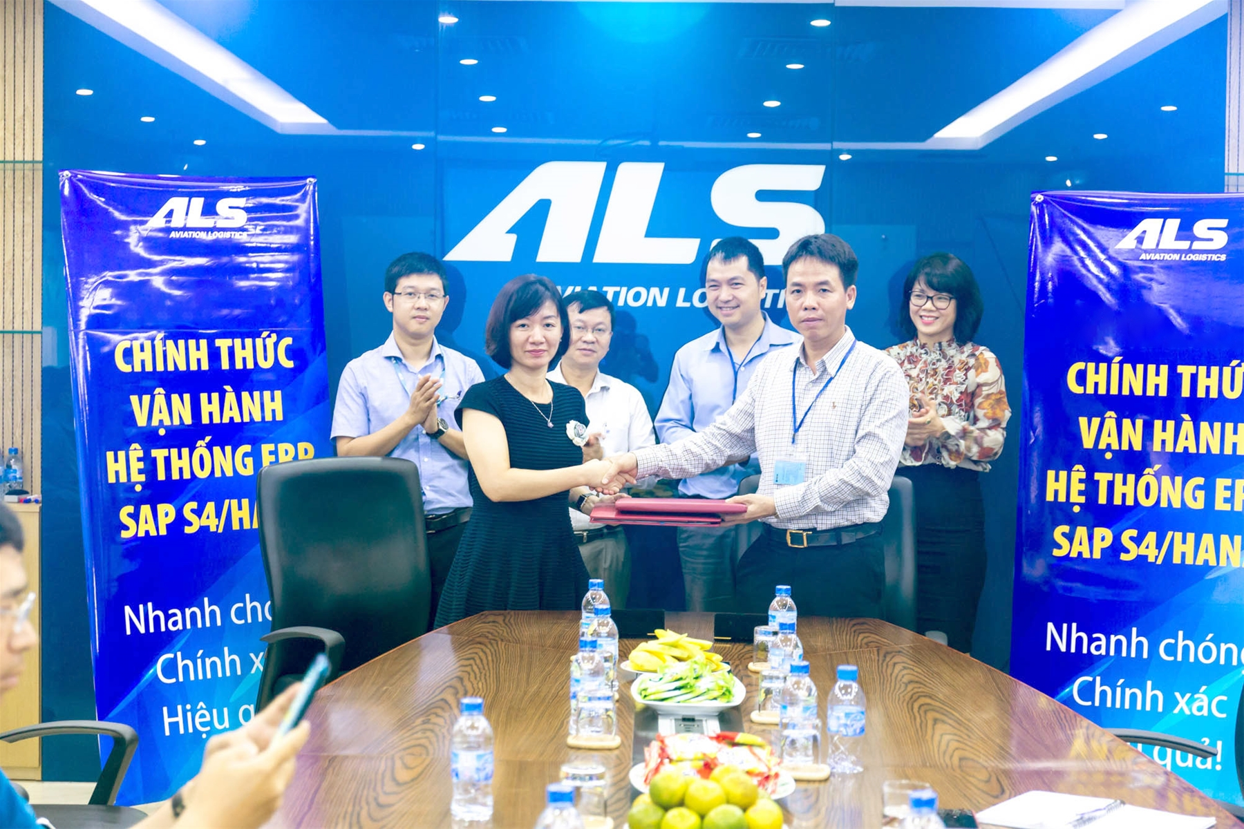 Aviation Logistics Corporation officially launches ERP to improve governance in the era of digital transformation