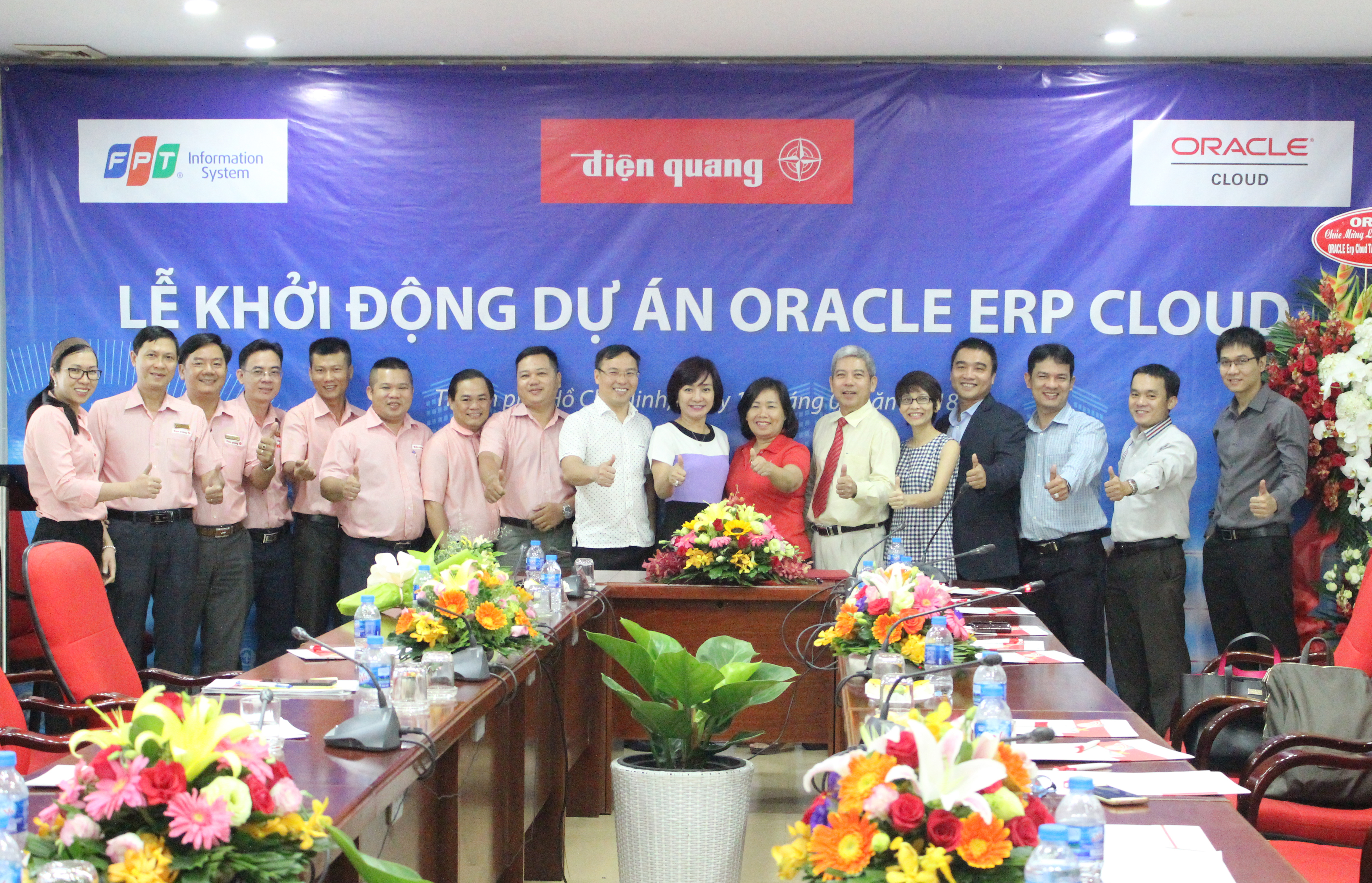 FPT IS deploys Oracle ERP Cloud system for Dien Quang