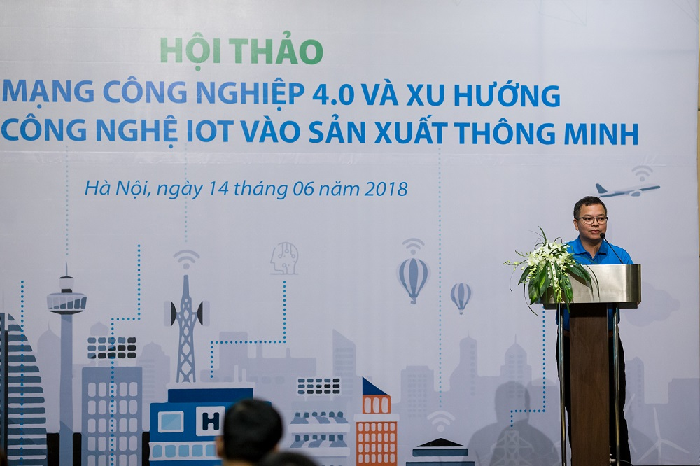 FPT IS and HPE Vietnam introduce the trend of applying IoT technology to Smart Manufacturing