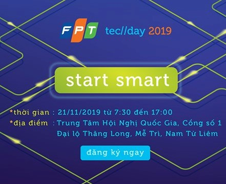 FPT TECHDAY 2019 is coming soon