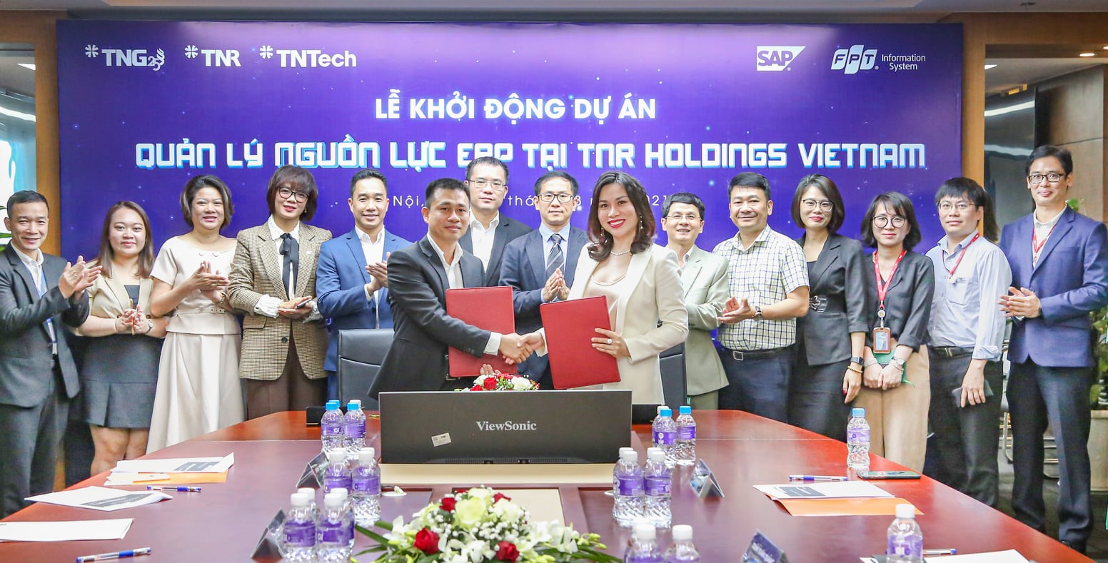 TNR Holdings Vietnam and FPT IS kick off the ERP SAP S/4HANA project