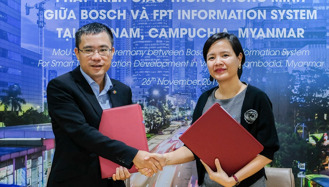 FPT IS cooperates with Bosch Vietnam to develop intelligent transportation